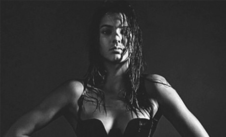 Kendall Jenner Lingerie Photo