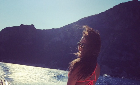 Lea Michele Flashes Rear End, Teeny Tiny Bikini in New Vacation Photos
