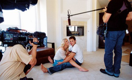 Nick Lachey and Jessica Simpson on Newlyweds