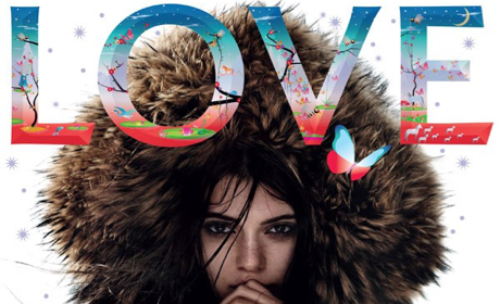 Kendall Jenner: Topless For LOVE Magazine!