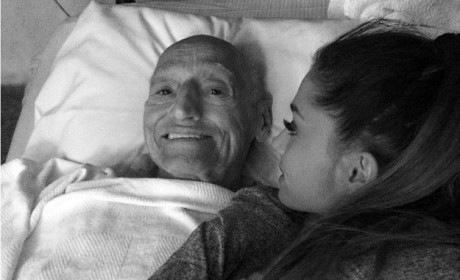 Ariana Grande Posts Tribute to Late Grandfather on Twitter