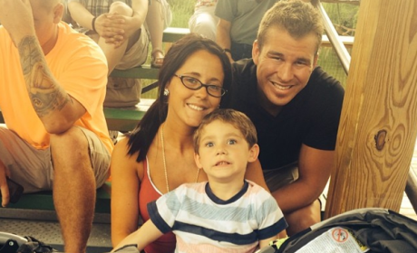 Jenelle Evans and Her Family