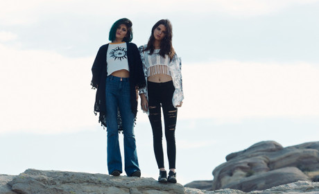 Kendall and Kylie Jenner Pacsun Ad