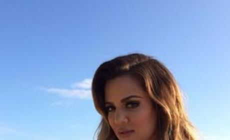 Khloe Kardashian: Pregnant?! Reality Star Hints That She's Knocked Up on Instagram!