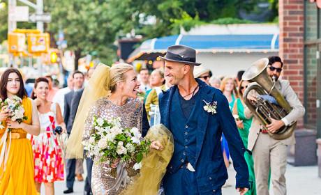 Piper Perabo Wedding Dress