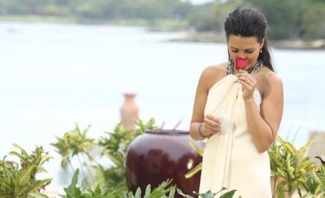 Andi Smells a Rose