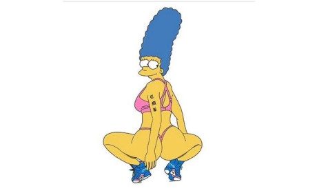 Nicki Minaj as Marge Simpson