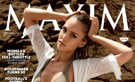 Jessica Alba Covers Maxim, Loves Nachos and Tequila