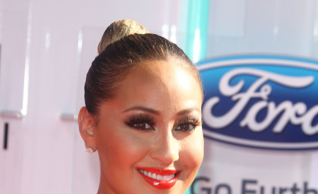 Adrienne Bailon Calls Out Chris Brown: I'm Cool With Karrueche! Get Your Facts Straight!