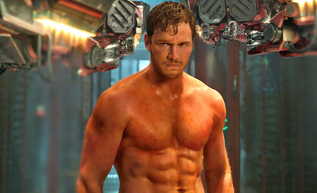 Chris Pratt in Guardians of the Galaxy