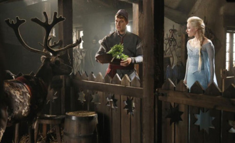 Once Upon a Time Season 4 Pics: First Look at Frozen!