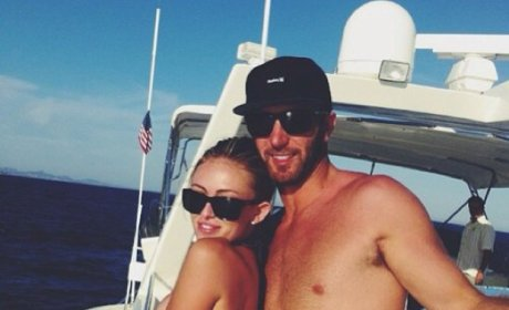 Paulina Gretzky and Dustin Johnson Photo