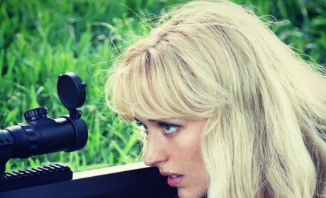 Bunny Hunter Takes Aim