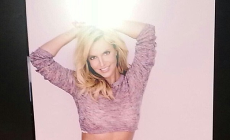 Britney Spears Underwear Photo: Unretouched! Not Unhot!