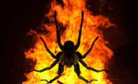 Woman Sets Home on Fire in Attempt to Kill Spider