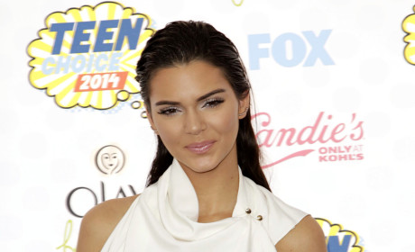 Kendall Jenner at the 2014 Teen Choice Awards