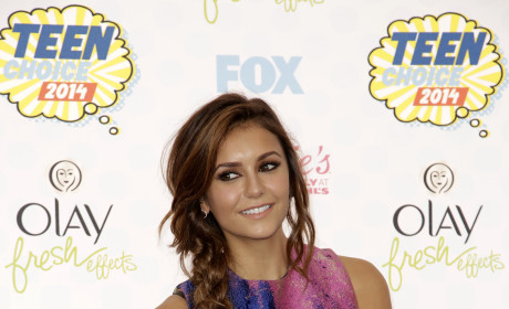 Nina Dobrev at the 2014 Teen Choice Awards