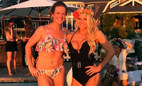 Jessica Simpson Shows Off Cleavage, Insane Legs in New Instagram Photo