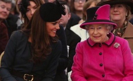 Kate Middleton, Queen Elizabeth