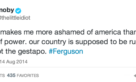 Celebrities React to Events in Ferguson, Missouri