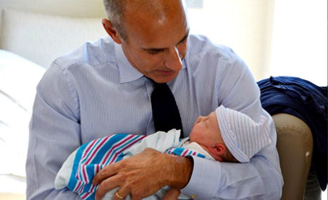 Matt Lauer and Baby