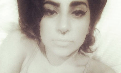 Lady Gaga Channels Amy Winehouse in Sexy Bedtime Selfie