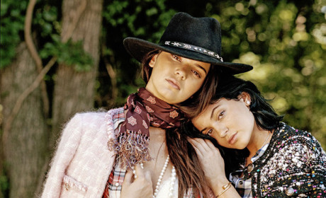 Kylie and Kendall Jenner For DuJour