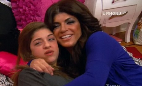 Teresa Giudice Gives Daughter FAKE Family Heirloom in Staged Real Housewives of New Jersey Scene!