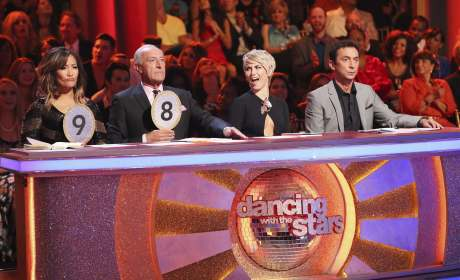 Julianne Hough as Dancing With the Stars Judge