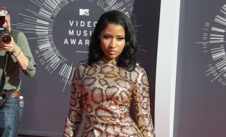 Nicki Minaj at the 2014 VMAs