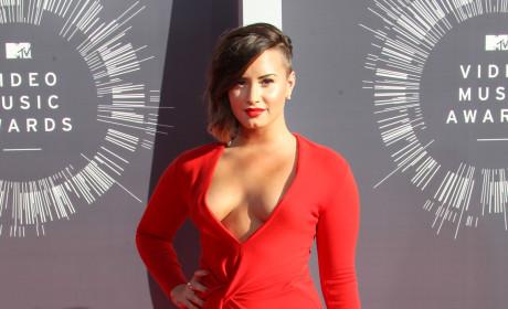 Demi Lovato at 2014 VMAs