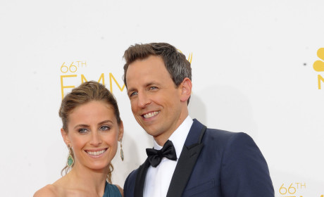 Seth Meyers at the Emmys