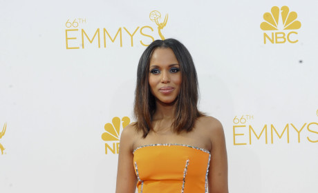 Kerry Washington at the 2014 Emmys