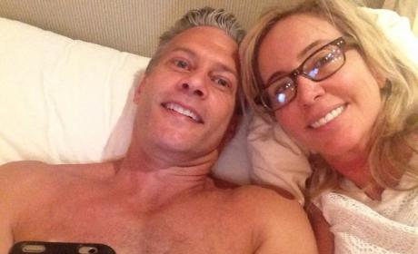 Shannon and David Beador Put Divorce Rumors to Bed ... With TMI Photo From Bed!
