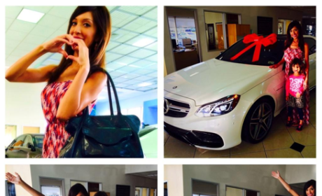 Farrah Abraham Buys $100K Benz With Strip Club Ca$h: She's Baller, Guys Wanna Ball Her