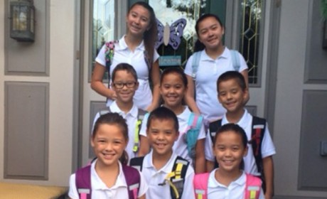 Kate Gosselin's Kids: Looking HUGE in First Day of School Pic!