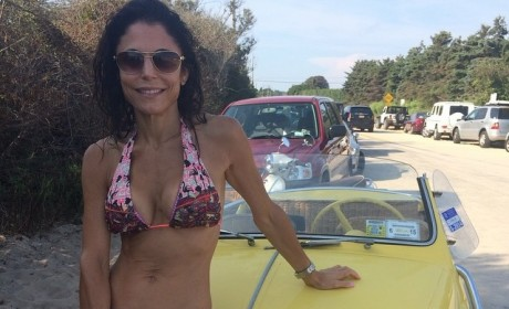 Bethenny Frankel Posts Bikini Photo, Looks Skinnier Than Ever!