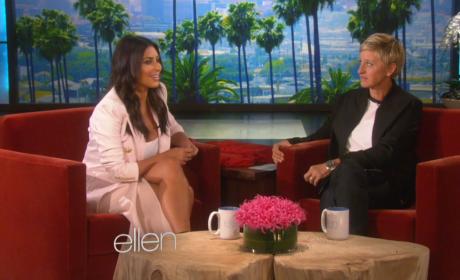 Kim Kardashian Talks to Ellen