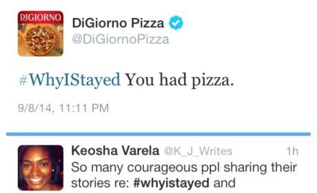 DiGiorno Apologizes for Interrupting Domestic Violence Talk with Pizza Ad