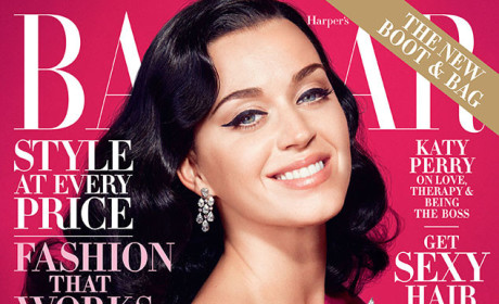 Katy Perry in Harper's Bazaar: No Time For Bulls--t!