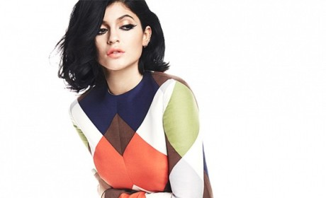 Kylie Jenner Goes Retro for Byrdie, Remains Fully Clothed