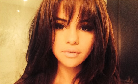 Selena Gomez Bangs Photo
