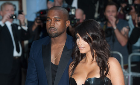 Kanye West Ditches Kim Kardashian and North West at Disney on Ice!