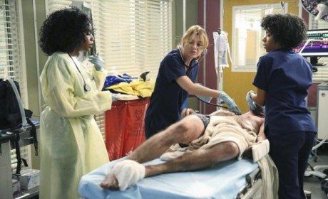 Meredith Saving Lives