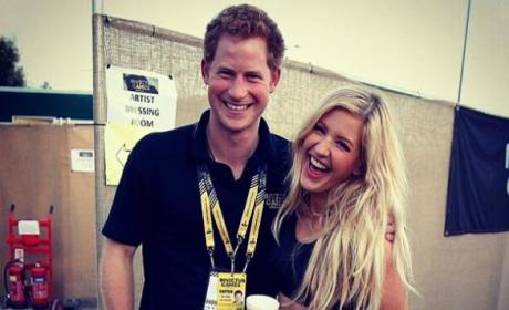 Prince Harry and Ellie Goulding Dating Rumors Circulate As Singer Prepares to Perform at Harry's Birthday Bash!