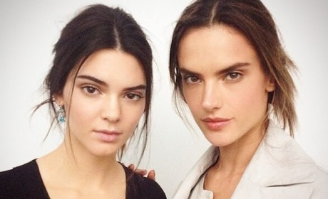 Alessandra Ambrosio and Kendall Jenner