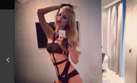 Paris Hilton Poses #SexySelfie: Would You Still Hit It?