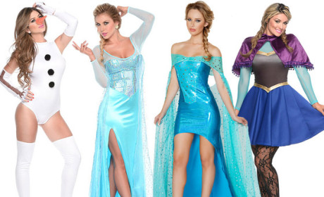 Sexy Frozen Halloween Costumes: Actually a Thing For Sale This Year!