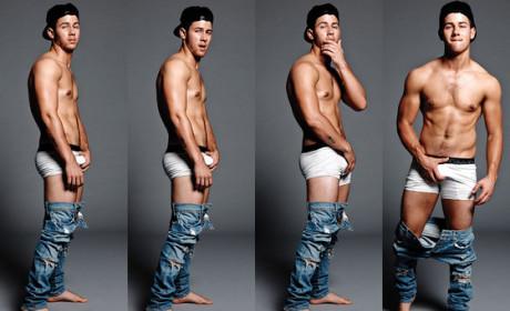 Nick Jonas Flaunt Pictures