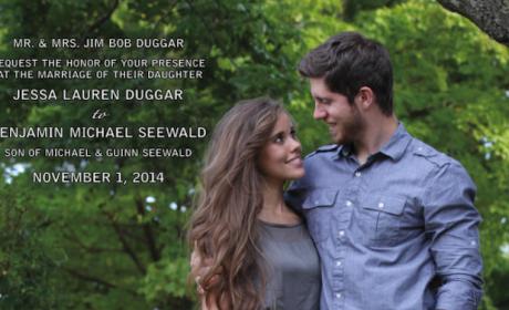 Jessa Duggar Wedding Countdown: Invite, Registry Details Revealed!